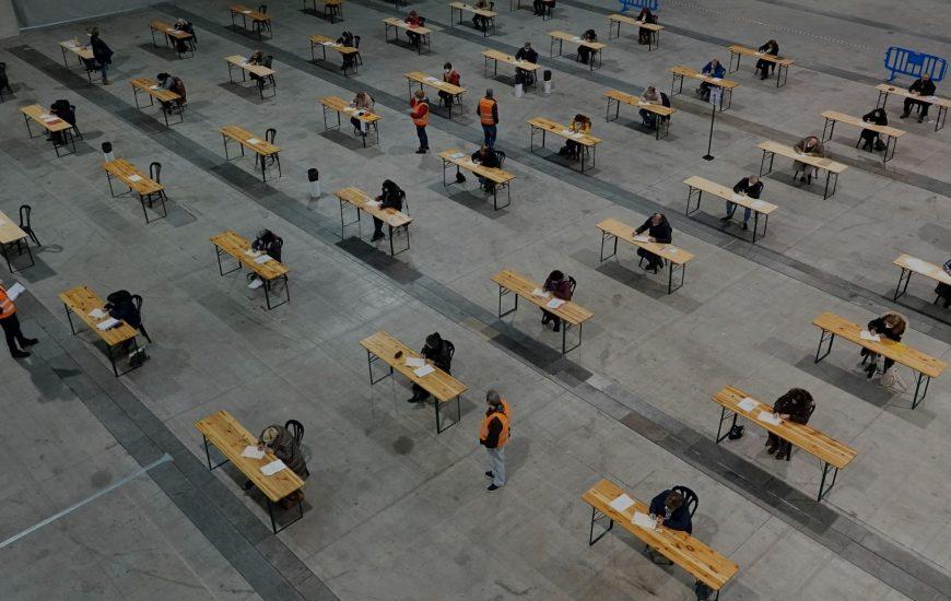 Máis de 7.000 aspirantes examinaranse o 27 e 28 de marzo para 476 prazas de educadores, auxiliares de enfermería e categorías administrativas